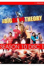 Big Bang Theory - Season 10 Disc 1 (1-11) The