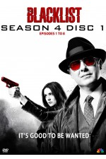 The Blacklist  Season 4 Disc 2 Ep 9-15 (Disc 2 of 3)