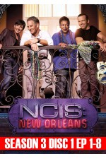 NCIS New Orleans - Season 3 Disc 1 (1-8)