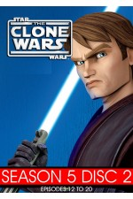Star Wars: Clone Wars  -  Season 5 Disc 2 (12-20)