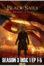 Black Sails - Season 3 Disc 1 (1-5)