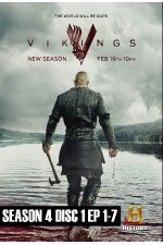 Vikings – Season 4 Disc 1 (1-7)