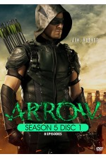 Arrow - Season 5 Disc 1 (1-8)