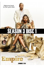 Empire  - Season 3 Disc 1 (1-8)