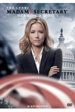 Madam Secretary -  Season 3 Disc 1  (1-8)