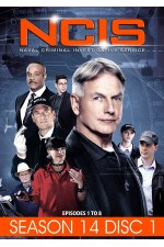 NCIS - Season 14 Disc 1 Episopdes 1-8 ( Disc 1of 3 )