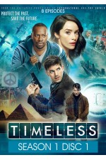Timeless - Season 1 Disc 1 (1-8)