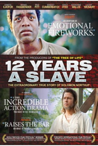 12 Years A Slave 2013