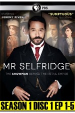 Mr. Selfridge Season 1 Disc 1 (1 - 5)