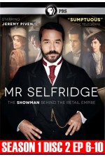 Mr. Selfridge Season 1 Disc 2 (6 - 10)
