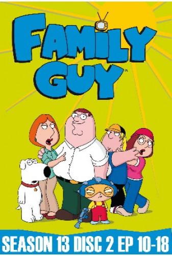 Family Guy Season 13 Disc 2 (10-18)
