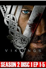 Vikings – Season 2 Disc 1 (1-5)