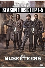 Musketeers - Season 1 Disc 1 (1-5) The