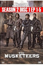 Musketeers - Season 2 Disc 1 (1-5) The